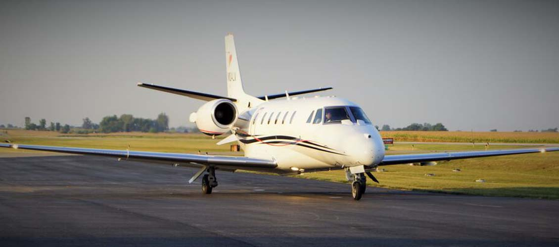 Jasper County Airport Business Jet Traffic (Image Credit: J. Keiper)