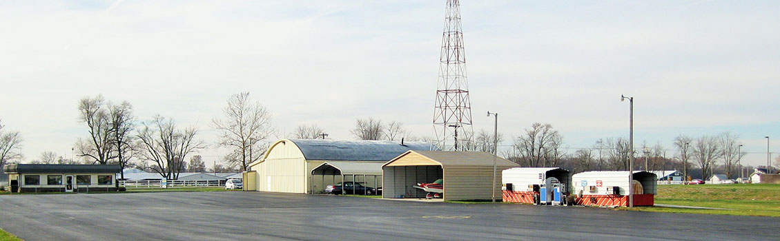 Jasper County Airport Apron (Image Credit: B. Cozza)